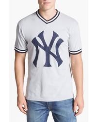 T shirt a col en v imprime original 4027710