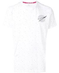 T-shirt à col rond à étoiles blanc Alpha Industries