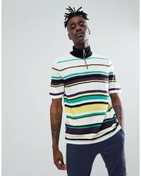 T-shirt à col rond à rayures horizontales multicolore ASOS DESIGN