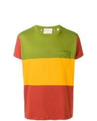 T-shirt à col rond à rayures horizontales multicolore Levi's Vintage Clothing