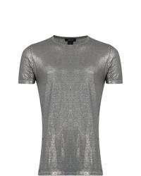 T-shirt à col rond argenté Avant Toi