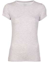 T-shirt à col rond beige