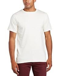 T-shirt à col rond beige Anvil