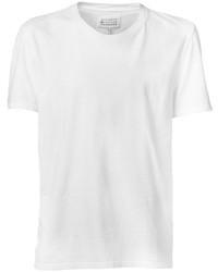 T shirt a col rond blanc original 386478