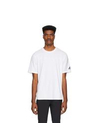 T-shirt à col rond blanc adidas Originals