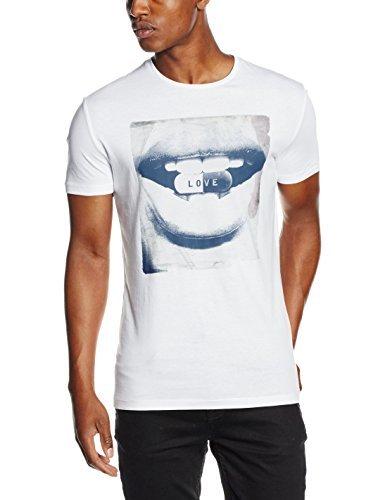 T-shirt à col rond blanc Antony Morato