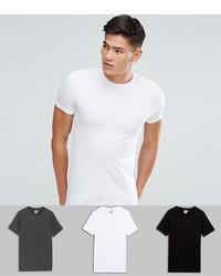 T-shirt à col rond blanc ASOS DESIGN