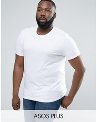 T-shirt à col rond blanc Asos