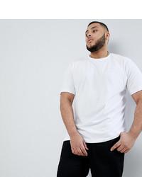T-shirt à col rond blanc BadRhino