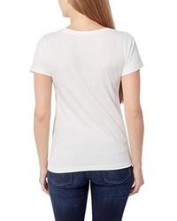 T-shirt à col rond blanc Berydale