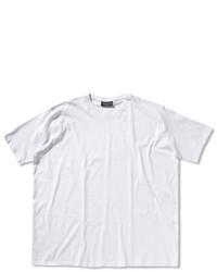 T-shirt à col rond blanc Casamoda