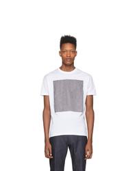 T-shirt à col rond blanc DSQUARED2