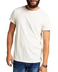 T-shirt à col rond blanc Jack & Jones