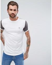 T-shirt à col rond blanc Le Breve