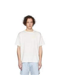 T-shirt à col rond blanc Martin Asbjorn