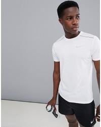 T-shirt à col rond blanc Nike Running