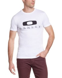 T-shirt à col rond blanc Oakley