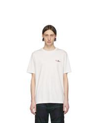 T-shirt à col rond blanc Paul Smith