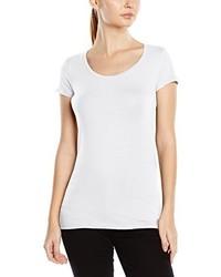 T-shirt à col rond blanc Stedman Apparel