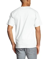 T-shirt à col rond blanc Touchlines