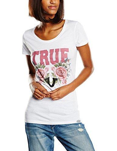 T-shirt à col rond blanc True Religion