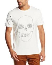 T-shirt à col rond blanc Volcom