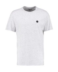 T-shirt à col rond blanc YOURTURN
