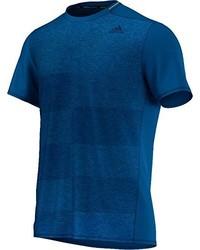 T-shirt à col rond bleu canard adidas
