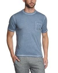 T-shirt à col rond bleu clair Dockers