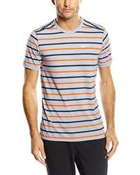T-shirt à col rond bleu clair Nike