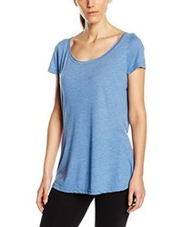 T-shirt à col rond bleu clair Stedman Apparel