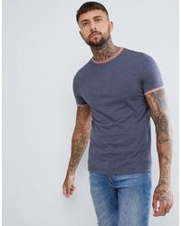 T-shirt à col rond bleu marine ASOS DESIGN