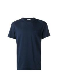 T-shirt à col rond bleu marine Closed
