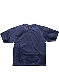 T-shirt à col rond bleu marine Dickies