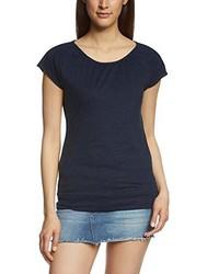 T-shirt à col rond bleu marine Forvert