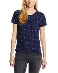 T-shirt à col rond bleu marine Levi's