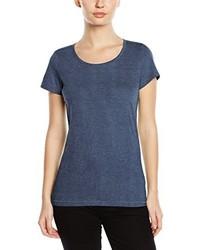 T-shirt à col rond bleu marine Stedman Apparel