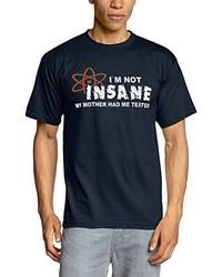 T-shirt à col rond bleu marine Touchlines