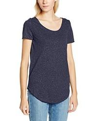 T-shirt à col rond bleu marine Vero Moda