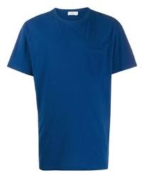 T-shirt à col rond bleu Closed