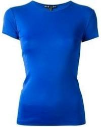 T-shirt à col rond bleu Ralph Lauren