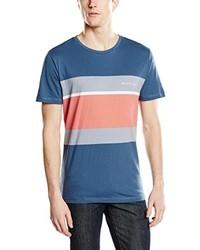 T-shirt à col rond bleu Rip Curl