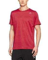 T-shirt à col rond fuchsia adidas