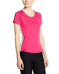 T-shirt à col rond fuchsia Nike