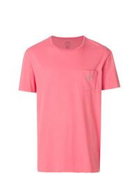 T-shirt à col rond fuchsia Polo Ralph Lauren