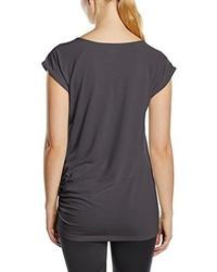T-shirt à col rond gris foncé Asics