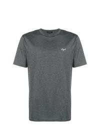T-shirt à col rond gris foncé Ermenegildo Zegna