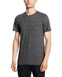 T-shirt à col rond gris foncé Levi's