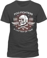 T-shirt à col rond gris foncé Live Nation