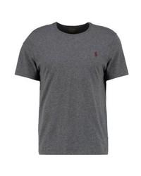 T-shirt à col rond gris foncé Ralph Lauren